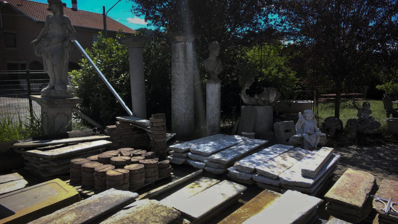 Materiale antico da ristrutturazione